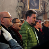 Daniel Herman, Georg Habsbursko-Toskánský a Gerog Habsbursko-Lotrinský na mši.