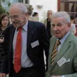 Zleva ex-poslanec Jaroslav kníže Lobkowicz a Hugo hrabě Mansdorff-Pouilly.