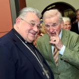 Dominik kardinál Duka a Hugo hrabě Mensdorff-Pouilly.