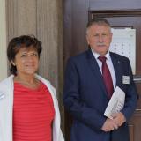 Seminář moderovala  ex-poslankyně a předsedkyně společnosti Středoevropská inspirace Nina Nováková a její manžel dr  Milan Novák, který na semináři přednesl jeden z příspěvků..