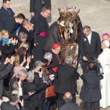 Předávání sochy sv. Anežky
