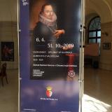 Výstava Vilém Kinský-diplomat ve službách Albrechta Valdštejna byla zahájena v pátek 5. dubna 2019.