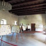 Výstava je umístěna ve Velkém sále Bavorovského paláce.