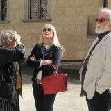 Adrienna Korff-Schmising-Kerssenbrocková, Kateřina Daczická a Jan Drocár přijeli na zahájení výstavy.