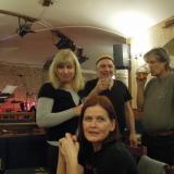 Alena (Áša) Fenclová, Ivanka  Feitlová  a Richard Holický (Clif)