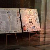 Rodokmen a genealogická posloupnost Waldstein-Wartenbergů v katedrále sv. Víta.